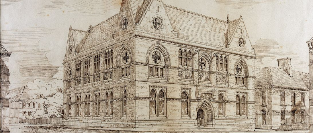 Blackburn Museum Drawing