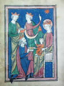 The Blackburn Psalter, made in Oxford around 1260-80