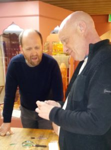Object Identification Day with Stuart Noon from PAS and Stephen Irwin from Blackburn Museum