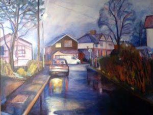 Suzanne Worrell - Twilight Church Walk