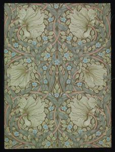 William Morris Wallpaper A Designlab Nation Exhibition Blackburn Museum