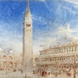 St Mark's Square, Albert Goodwin, [unknown date]