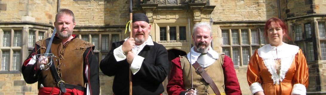 Civil War Week, Gawthorpe Hall