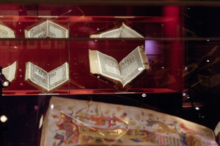 Manuscripts from the Robert Edward Hart Collection on display in Blackburn Museum