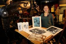 Julia Swarbrick: Linocutting with the Columbian Press Workshop