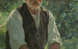 'Portrait of Mr Kersey, Suffolk', Thomas Cantrell Dugdale  (1880 – 1952) by Blackburn Museum and Art Gallery